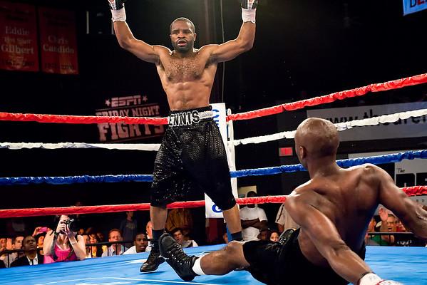 Arena Boxing 10 Jul 09:  Derek Ennis over John Mackey