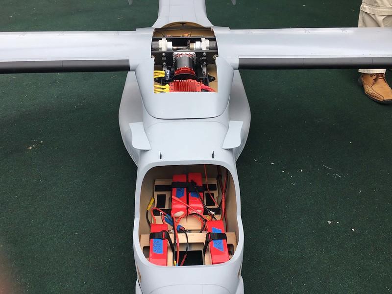 Four 6S-5100 Li-Pos