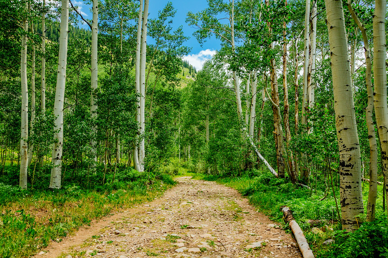 Hiking in Gunnison, Colorado