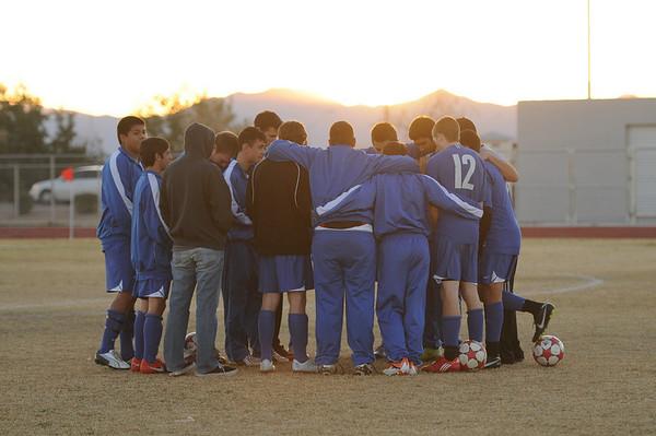 2010-2011 Cactus Boys Var Soccer