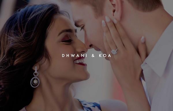Dhwani & Koa | Ahmedabad 2019