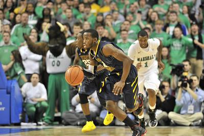 28080 WVU Men's Basketball Marshall January 2012