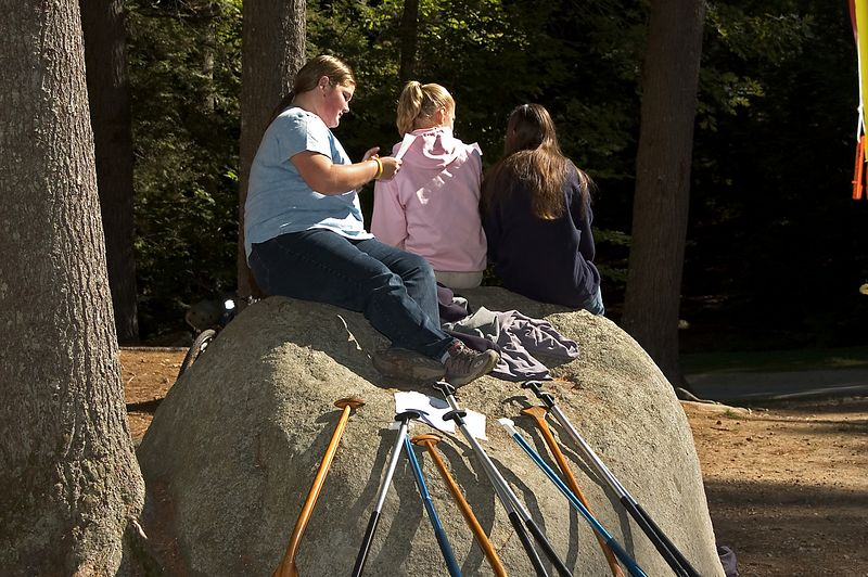This rock was a popular hang-out spot   (Sep 11, 2005, 09:55am)