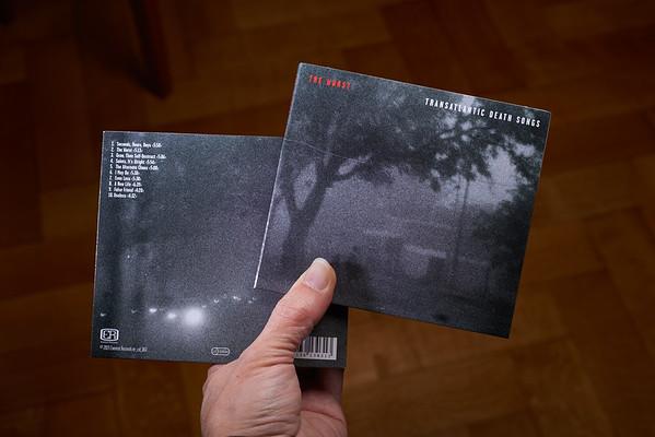 Pochette CD «The Worst», 2015