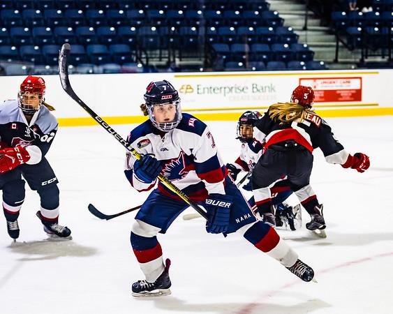 NAHA White vs Ottawa Lady 67's   10-12-2019