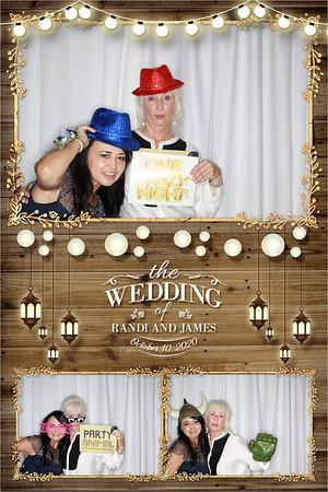 Randi & James Wedding 10-10-2020