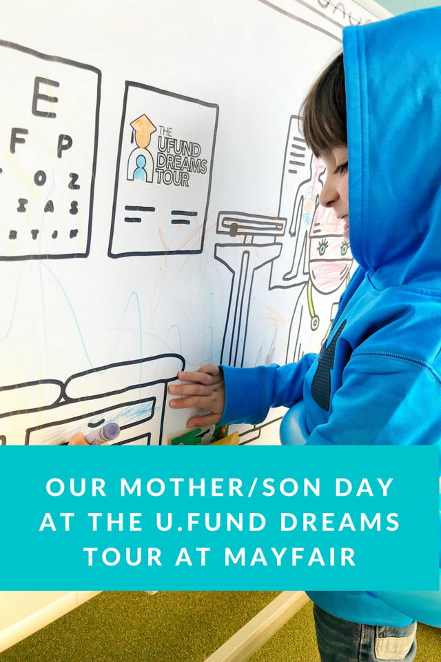 Des and I got the chance to attend Mayfair in Boston last Sunday, and we made sure to visit the U.Fund Dreams Tour Tent so we could take photos, learn, and play. Find out their other stops on the tour! #finances #UFundDreams #ad