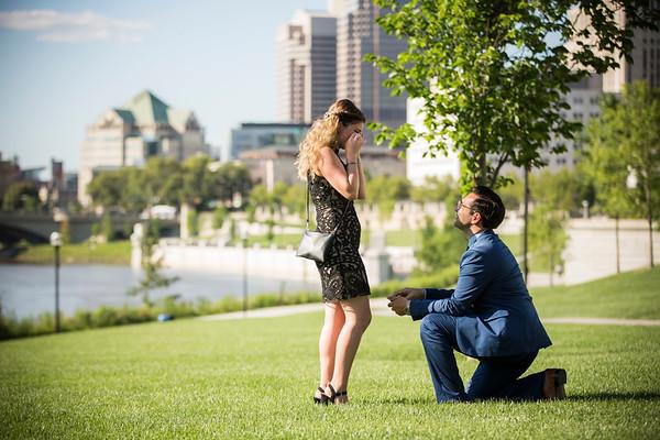 Megan + Ash: Proposal