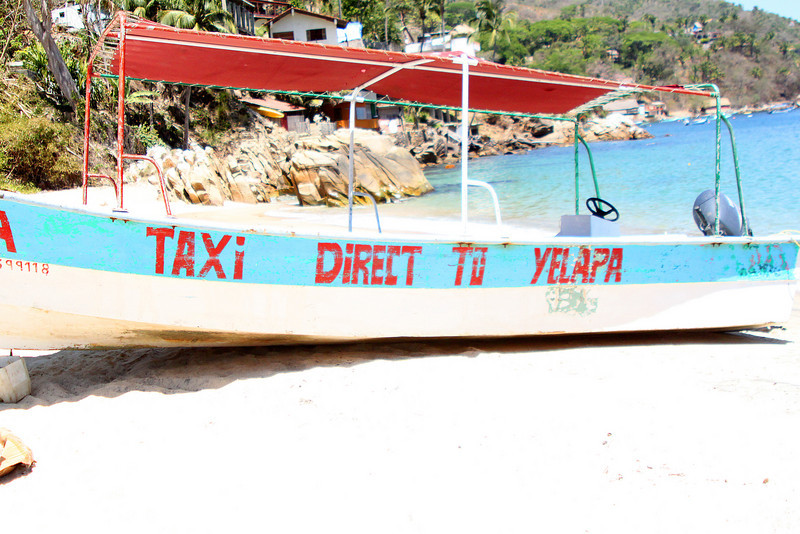 Yelapa taxi.