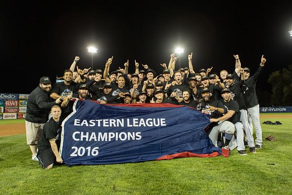 Eastern League 2016 Champion Akron RubberDucks