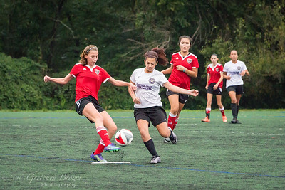 WAGS Tournament Game1, Loudoun Black.  October 8, 2016.