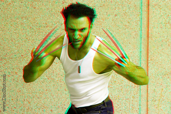 Red-Blue Anaglyph