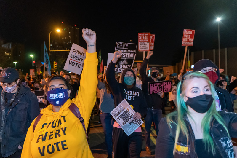 2020 11 04 Day after election protest TCC4J NAARPR mass arrests-23.jpg