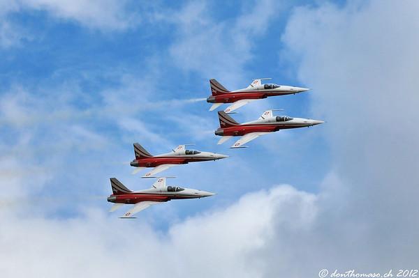 Fliegerschiessen Axalp 2012