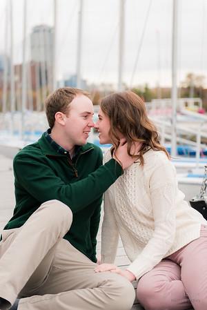 Esplanade, Liberty Hotel, Beacon Hill Engagement: Katrina & Ryan