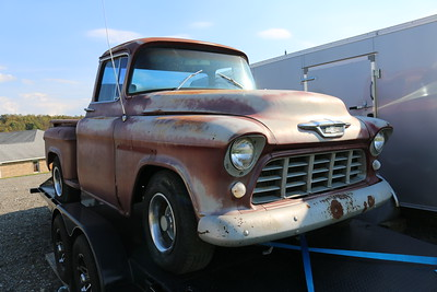 1956 Chevy Truck Street Rod Project