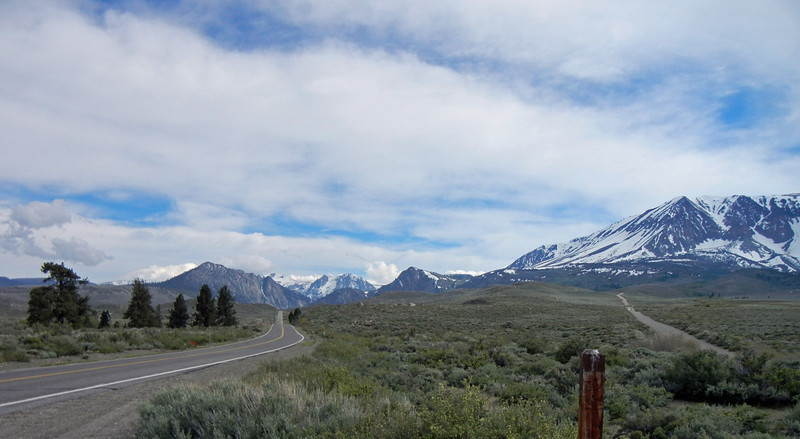 Rte 158 to June Lake. TH to Parker Creek off to right
