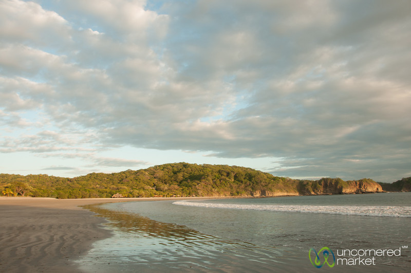 Late Afternoon at Morgan's Rock Beach - Pacific Coast, Nicaragua