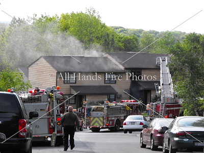 20090511 - Arlington - Structure Fire