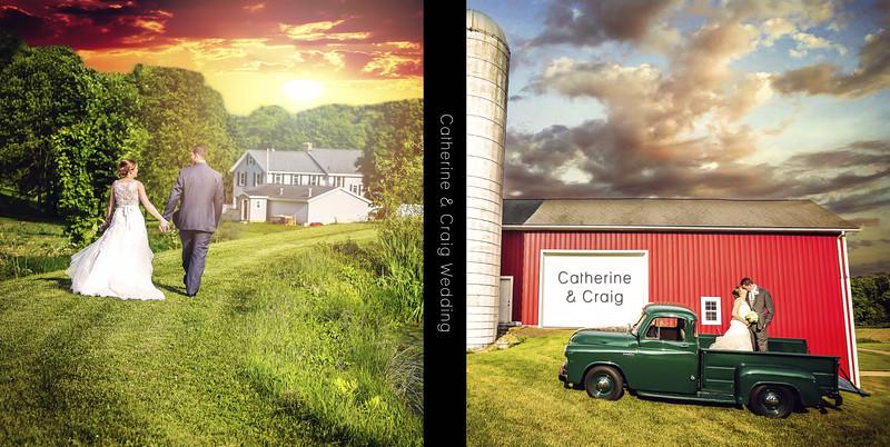 Catherine & Craig 10x10 Sample Album