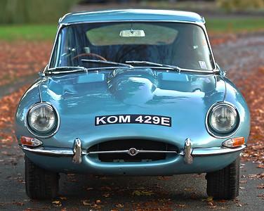 1967 Jaguar E-Type Series 1 4.2 Litre Fixed Head Coupé KOM 429E