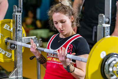 Womens British Powerliftinfg 7th March 2020 Group B
