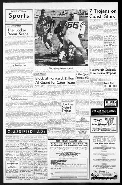 Daily Trojan, Vol. 57, No. 48, November 30, 1965