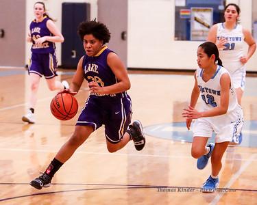 Girls JV Basketball at Yorktown 12/11/18