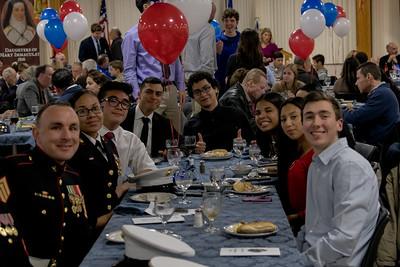 Veterans Day Tribute Dinner – November 8, 2019