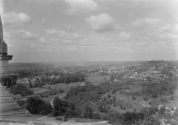 """This view is dated between 1910-20 from the """"new"""" observatory."""