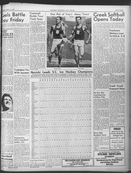 Daily Trojan, Vol. 30, No. 112, April 11, 1939