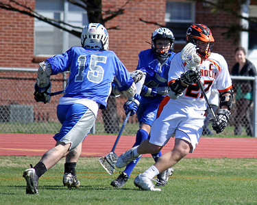 2011 LOUISIANA HIGH SCHOOL LACROSSE: Ocean Springs @ Catholic.  Ocean Springs wins