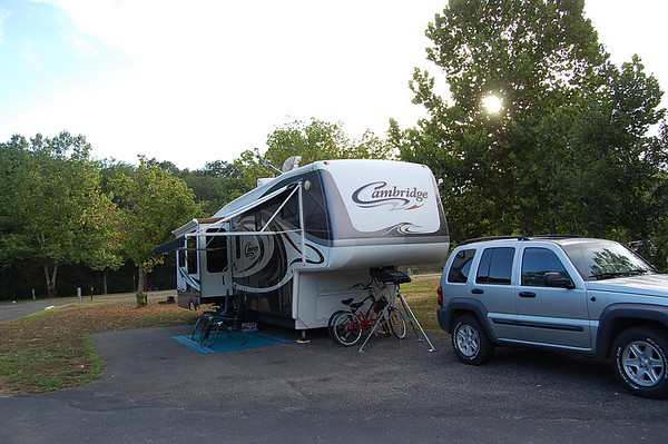 Journal Site 77: Alley Spring Campground, Ozark National Scenic Riverways, Alley Spring, Missouri - August 21, 2007