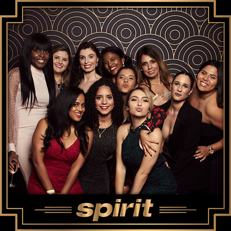 SPIRIT HOLIDAY PARTY - BESPOKE STUDIO & ROAMING BOOTH