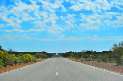 Road to Flinders Ranges, SA