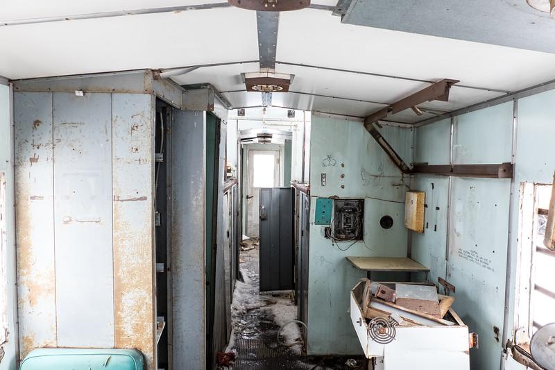 Inside The Abandoned Railway Car