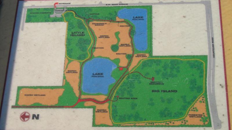 Snake Warriors Island Trail Map