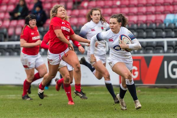 England Women vs Wales Women - 10 February 2018