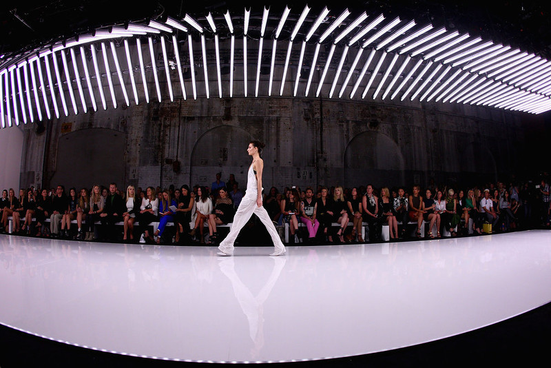 . A model showcases designs on the runway at the Bec and Bridge show during Mercedes-Benz Fashion Week Australia Spring/Summer 2013/14 at Carriageworks on April 8, 2013 in Sydney, Australia.  (Photo by Marianna Massey/Getty Images)