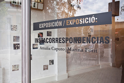 Instacorrespondences #5 - La Plataforma, Barcelona, Spain - 2015
