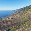 Weinanbau an der Westküste von La Palma bei Fuencaliente