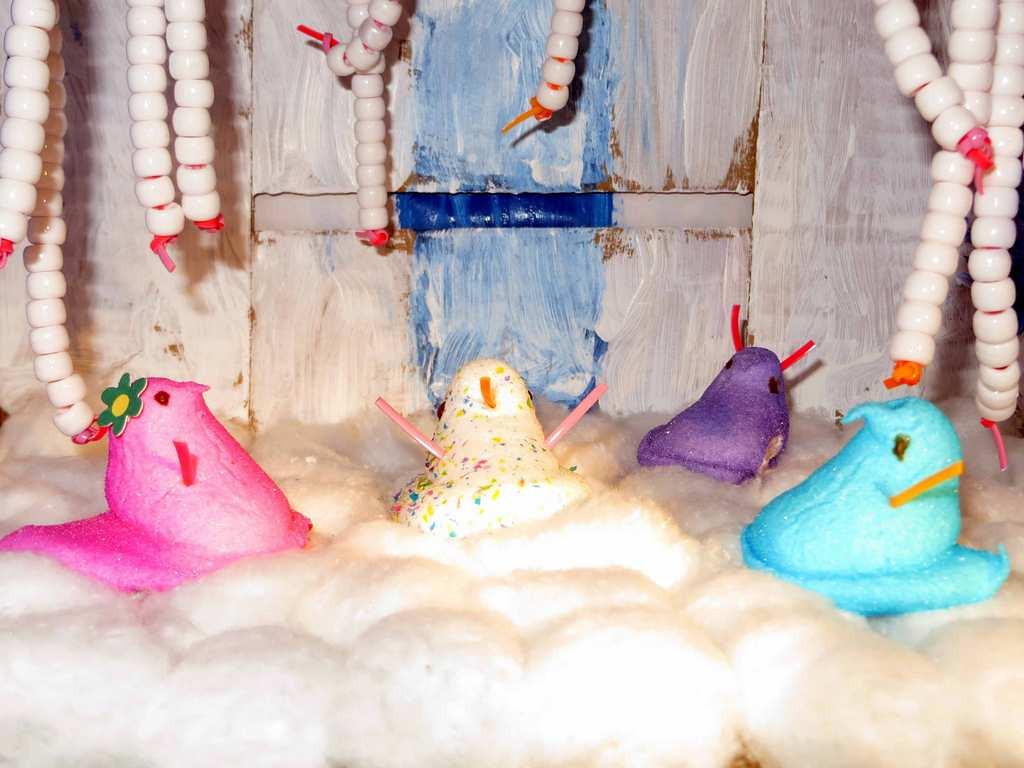 """. \""""Frozen Peeps,\"""" by Tabitha Johnson, 8, of Oakdale"""