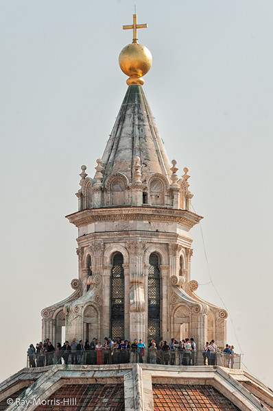 The top of the Duomo