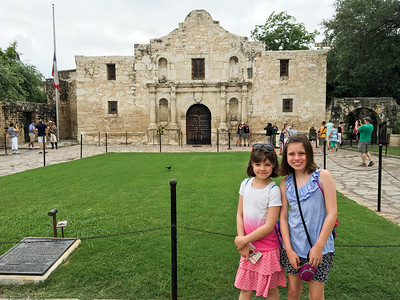Granddaughters' Trip to San Antonio