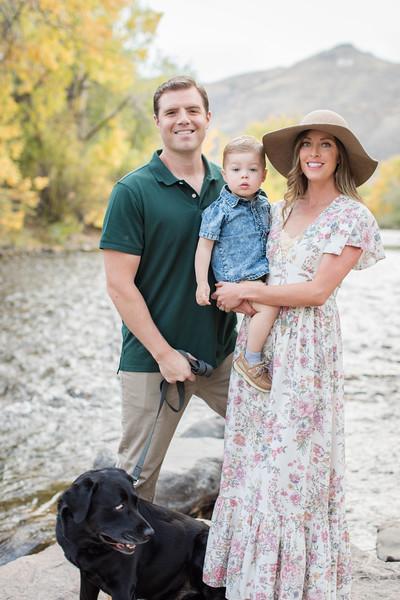 Mahoney Family in Golden