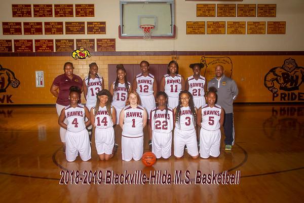2019 Girls Basketball MS