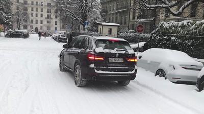 2o18 Geneva  under snow 1er mars