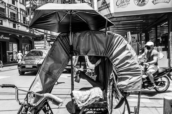 Philippines, Manila, Bikes & Sidecars