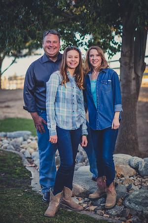 Kincheloe Family Portraits