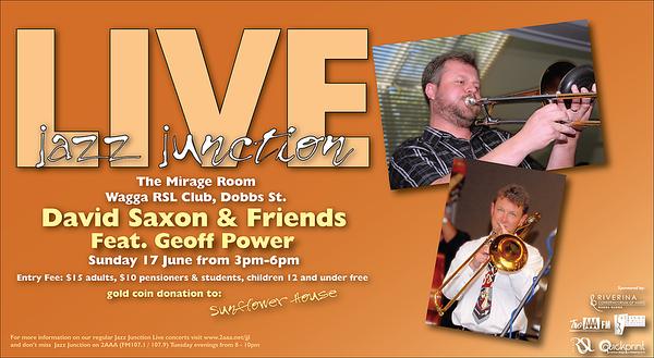 17/6/12 David Saxon & Friends feat Geoff Power